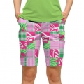 LoudMouth Ladies Mint Julep Bermuda Pants