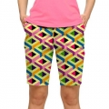 LoudMouth Ladies Block Party Bermuda Pants