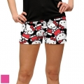 LoudMouth Ladies Hello Kitty Celebration Mini Shorts