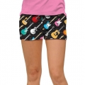 LoudMouth Ladies Rockstar Mini Shorts