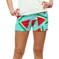 LoudMouth Ladies Melons StretchTech Mini Shorts