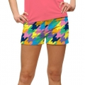 LoudMouth Ladies Peaches & Cream StretchTech Mini Shorts