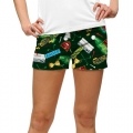 LoudMouth Ladies Swilcan Burn StretchTech Mini Shorts