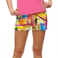 LoudMouth Ladies Strokes StretchTech Mini Shorts
