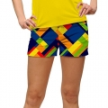 LoudMouth Ladies Block Island StretchTech Mini Shorts