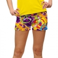 LoudMouth Ladies Woodystock StretchTech Mini Shorts