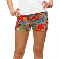 LoudMouth Ladies Hotel Lobby StretchTech Mini Shorts