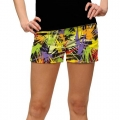 LoudMouth Ladies Splatterific StretchTech Mini Shorts