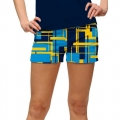 LoudMouth Ladies Power Grid StretchTech Mini Shorts