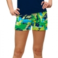 LoudMouth Ladies Ground Under Repair StretchTech Mini Shorts