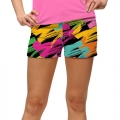LoudMouth Ladies Broad Strokes Mini Short