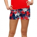 LoudMouth Ladies Icicles Mini Short