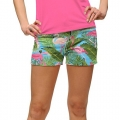 LoudMouth Ladies Flamingo Garden Shorts