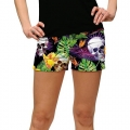 LoudMouth Ladies Skull Grotto Mini Short