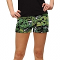 LoudMouth Ladies Golf Camo Mini Short