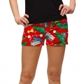 LoudMouth Ladies Barry Burn Mini Short