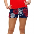 LoudMouth Ladies Fireworks Mini Short
