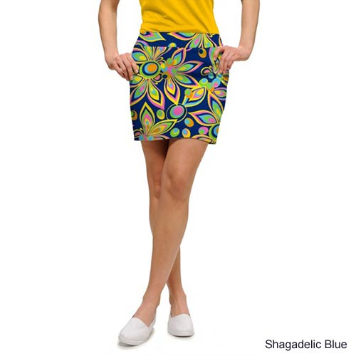 LoudMouth Ladies Shagadelic Blue Skorts (#SK)