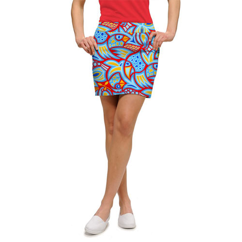 LoudMouth Ladies Cock-A-Doodle-Doo Skort