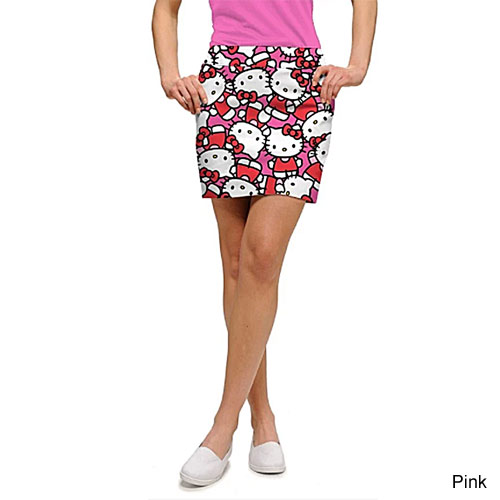 LoudMouth Ladies Hello Kitty Celebration Skort