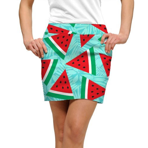 LoudMouth Ladies Melons StretchTech Skort