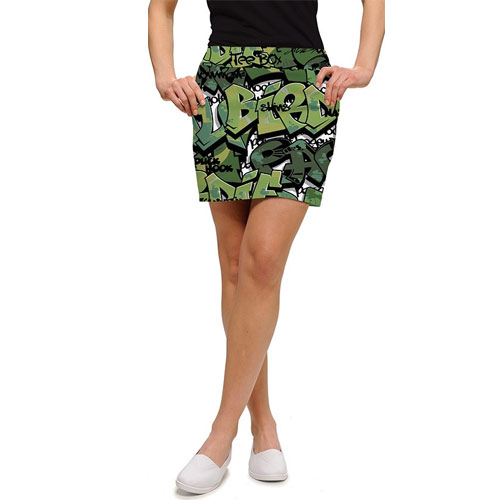 LoudMouth Ladies Golf Camo Skort