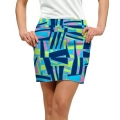 LoudMouth Ladies Tiki Bar Blue Skort