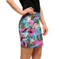 LoudMouth Ladies Pink Flamingos Skort