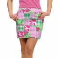 LoudMouth Ladies Mint Julep Skort