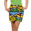 LoudMouth Ladies Golf Tip Skort