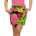 LoudMouth Ladies Big Poppies Skort