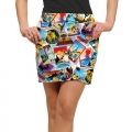 LoudMouth Ladies Postcards from the Wedge Skort