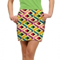 LoudMouth Ladies Block Party Skort