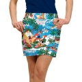 LoudMouth Ladies Surfin Santa Skort
