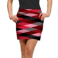 LoudMouth Ladies Fore Shades of Red Skort