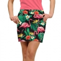 LoudMouth Ladies Flamingo Bay StretchTech Skort