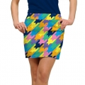 LoudMouth Ladies Peaches & Cream StretchTech Skort