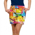 LoudMouth Ladies Strokes StretchTech Skort