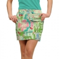 LoudMouth Ladies Baffing Spoon StretchTech Skort