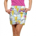 LoudMouth Ladies French Poodle Sundae StretchTech Skort