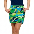 LoudMouth Ladies Ground Under Repair StretchTech Skort