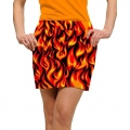 LoudMouth Ladies Five Alarm Skort