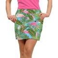 LoudMouth Ladies Flamingo Garden Skort