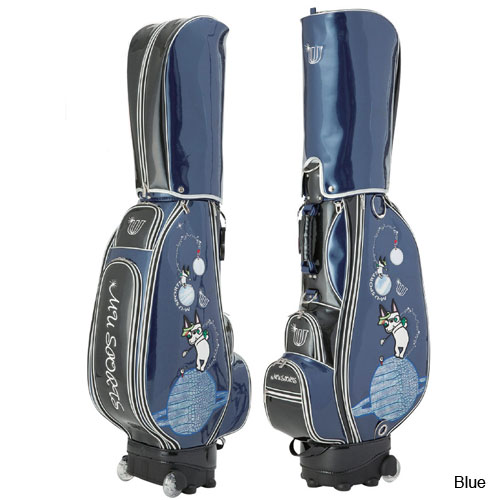 MU Sports Ladies Wheel Planet Caddie Bag (#703U6109)