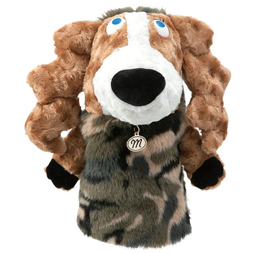 MUスポーツ Ladies Driver Cover Dog Plush