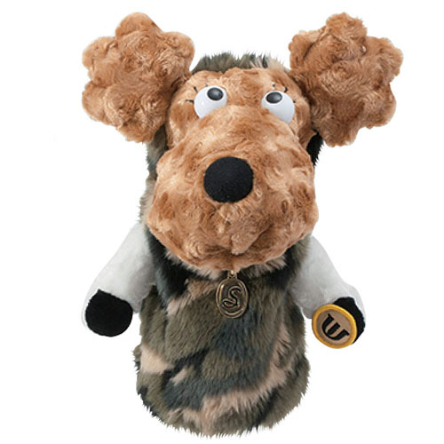 MUスポーツ Ladies Fairway Wood Cover Poodle Plush