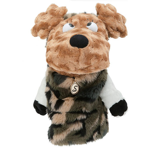MU Sports Ladies Driver Cover Poodle Plush