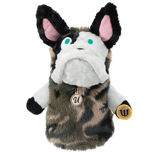 MUスポーツ Ladies Fairway Wood Cover French Bulldog Plush