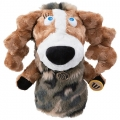 MU Sports Ladies Fairway Wood Cover Dog Plush