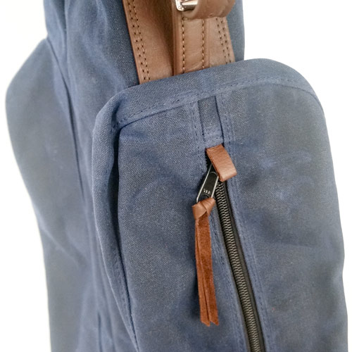 MacKenzie Wax Canvas Sunday Bag